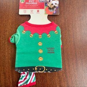 Christmas Pet Pajamas NWT Sz XS